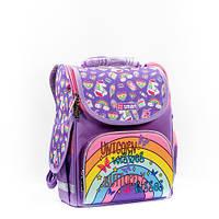 Ортопедический рюкзак для девочки в школу, 1-4 класс, объем 10 л