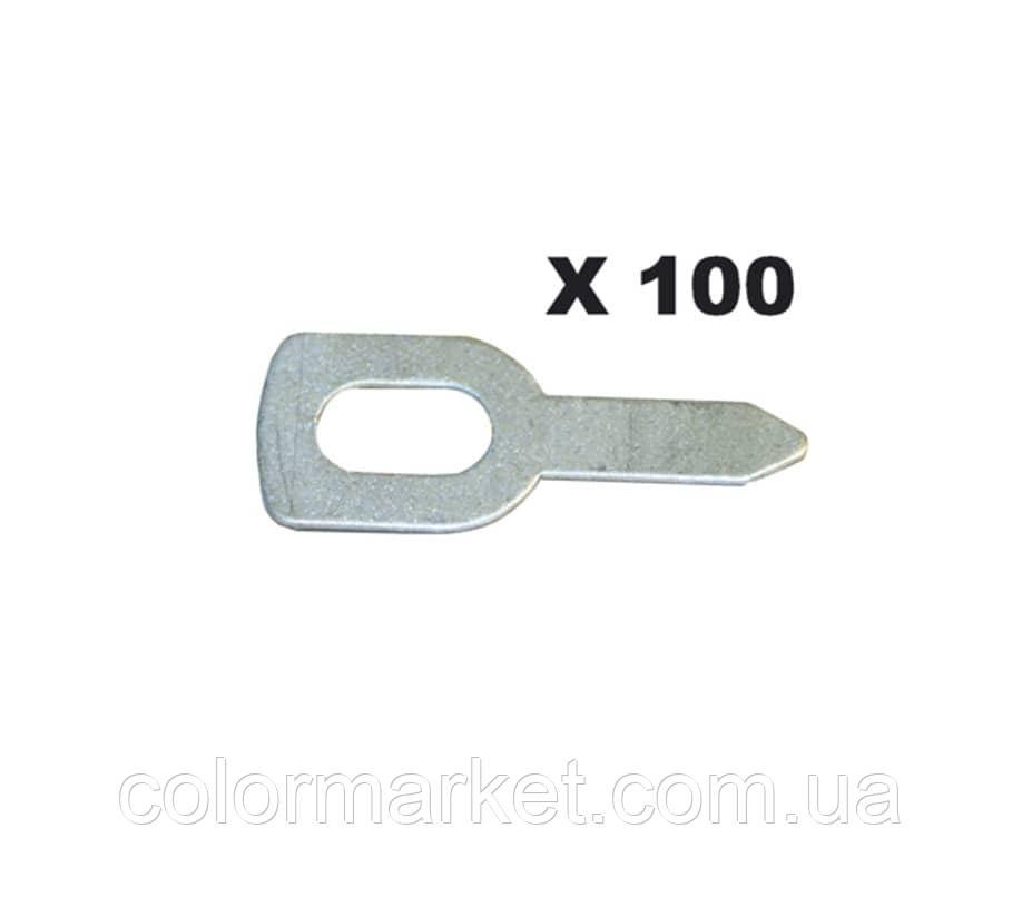 050648 Набір прямих кілець для витягування (100 шт.), GYS