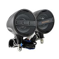 Аудіосистема мото AOVEISE МТ473( 2*20W чорні, МР3/USB/SD), мото колонки, радіо мото, фото 1