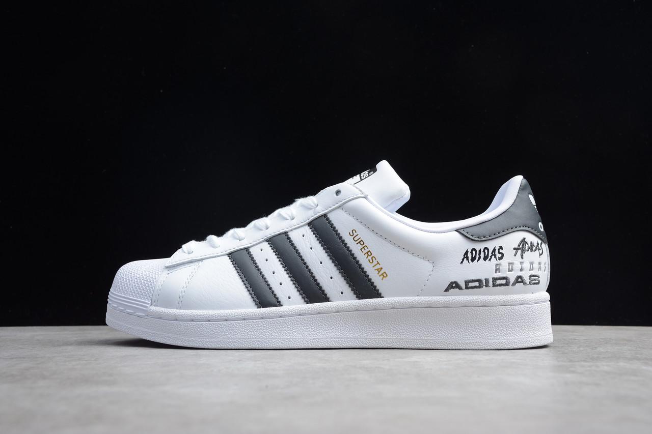 Кросівки жіночі Adidas Superstar / ADM-3412 (Репліка)