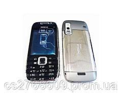 "Корпус ""High Copy"" Nokia E75 (silver) + клавіатура"