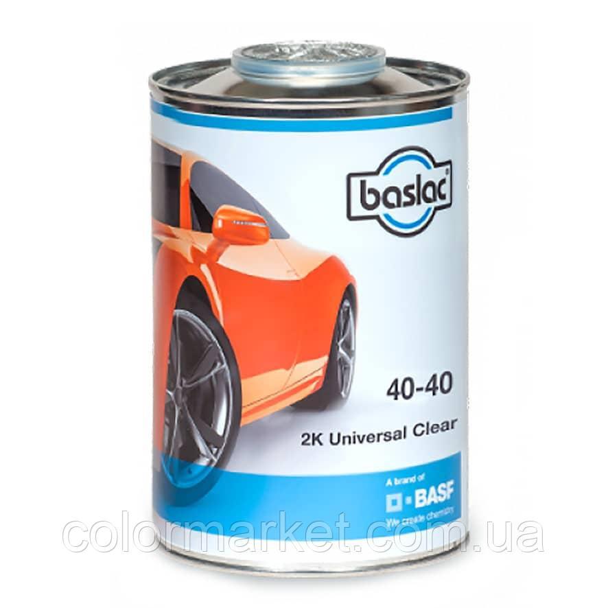 Baslac 40-40 (1 Л) Лак 2K Clear Universal HS, MS