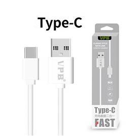 VPB Кабель USB - Type-C для Зарядки и Синхронизации