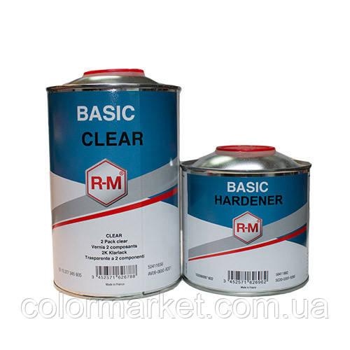 Акційний набір: лак Basic clear (1 л) з затверджувачем Basic Hardener (0,5 л), R-M