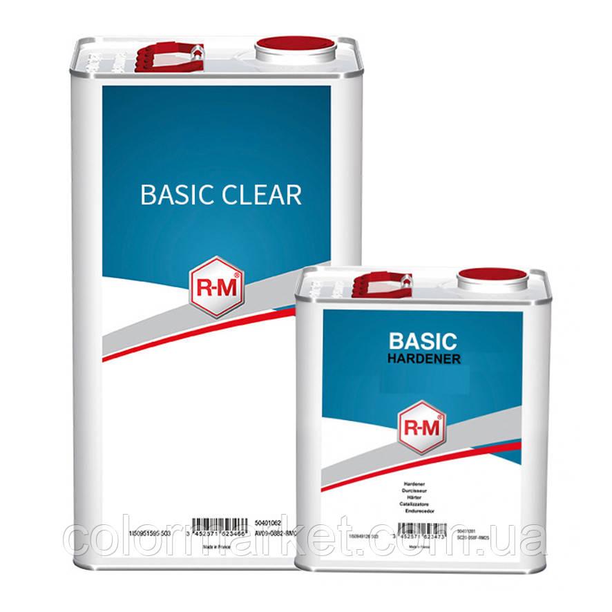 Акційний набір: лак Basic clear (5 л) з затверджувачем Basic Hardener (2,5 л), R-M