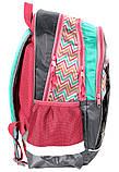 Школьный рюкзак для девочки Paso 18-081PK, фото 2