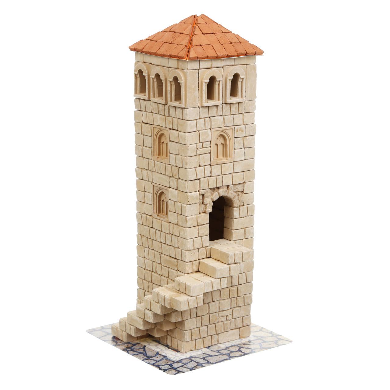 Керамічний конструктор з цеглинок Вежа 500 деталей Країна замків та фортець (Україна)