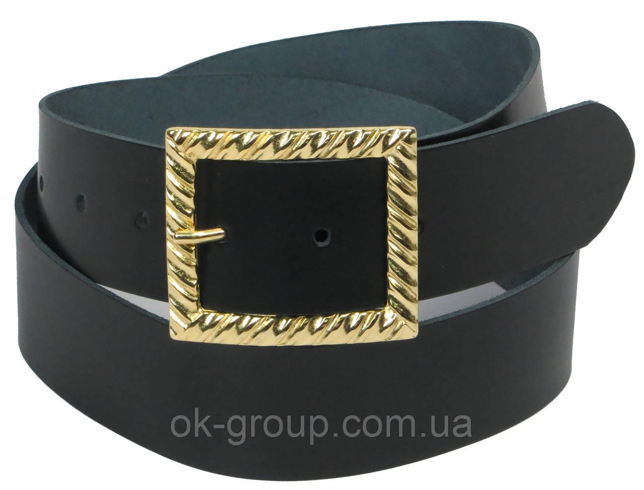 Женский кожаный ремень Vanzetti, Германия 100133 черный, 4х90 см