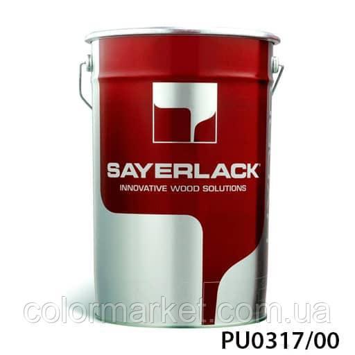 Лак прозорий поліефірний самогрунтующийся PU0317/00, кг, SAYERLACK