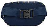 Женская сумка на пояс, бананка Paso PPMN19-510 синяя, фото 2