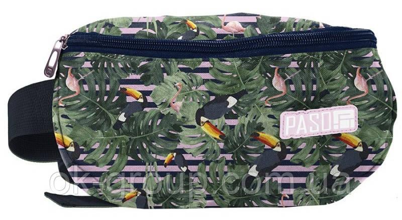 Женская поясная сумка, бананка Paso PPMS19-510