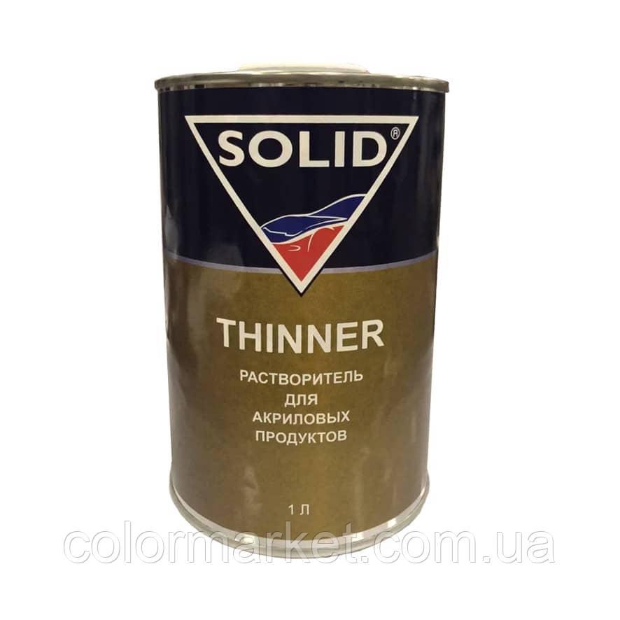 Растворитель Akrilic Thinner (1 л), SOLID