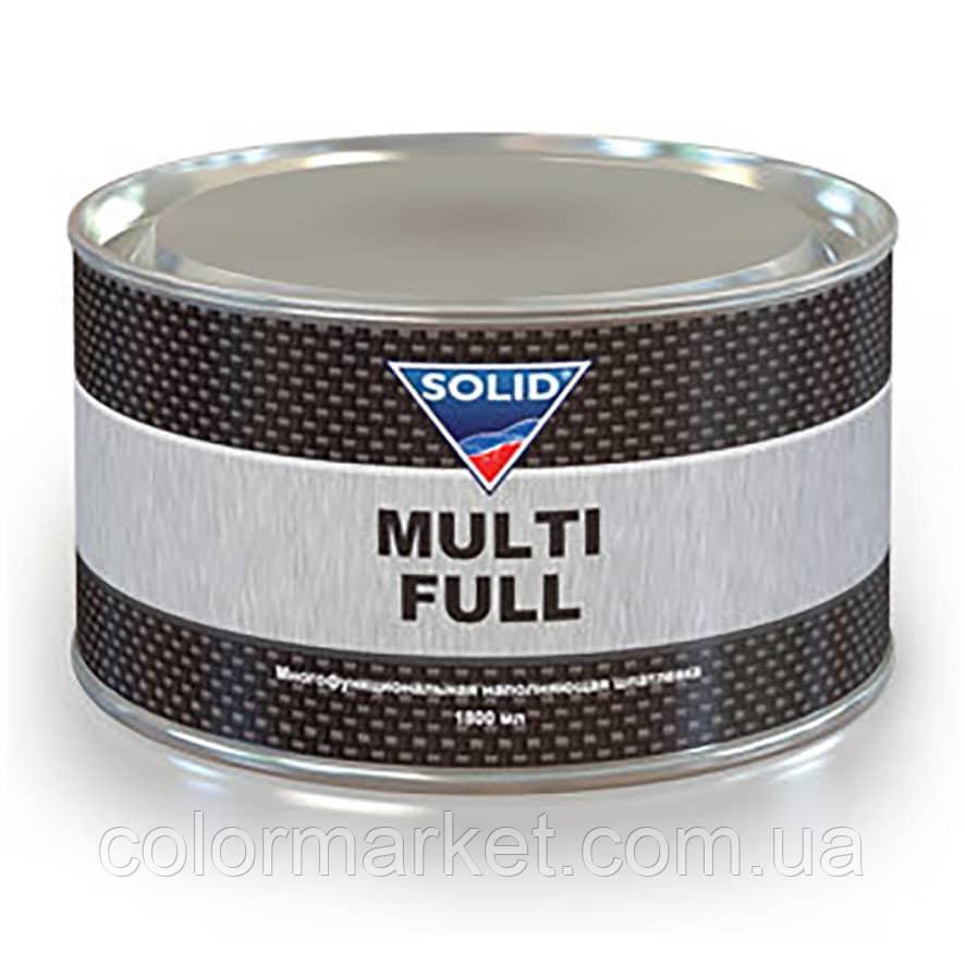 Шпаклівка Multi Full (1,8 кг) з затверджувачем, SOLID