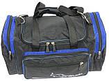 Сумка для тренировок Wallaby 270-2 черный с синим, 23 л, фото 6