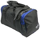 Сумка для тренировок Wallaby 270-2 черный с синим, 23 л, фото 8