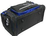 Сумка для тренировок Wallaby 270-2 черный с синим, 23 л, фото 10