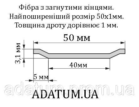 Фібра сталева Adatum