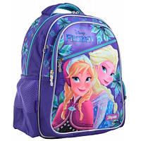 Рюкзак школьный каркасный 1 Вересня  Frozen (ранец для школьников 6-10 лет), фото 1
