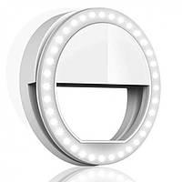 Селфи кольцо для телефона Selfie Ring Light RK-12 USB