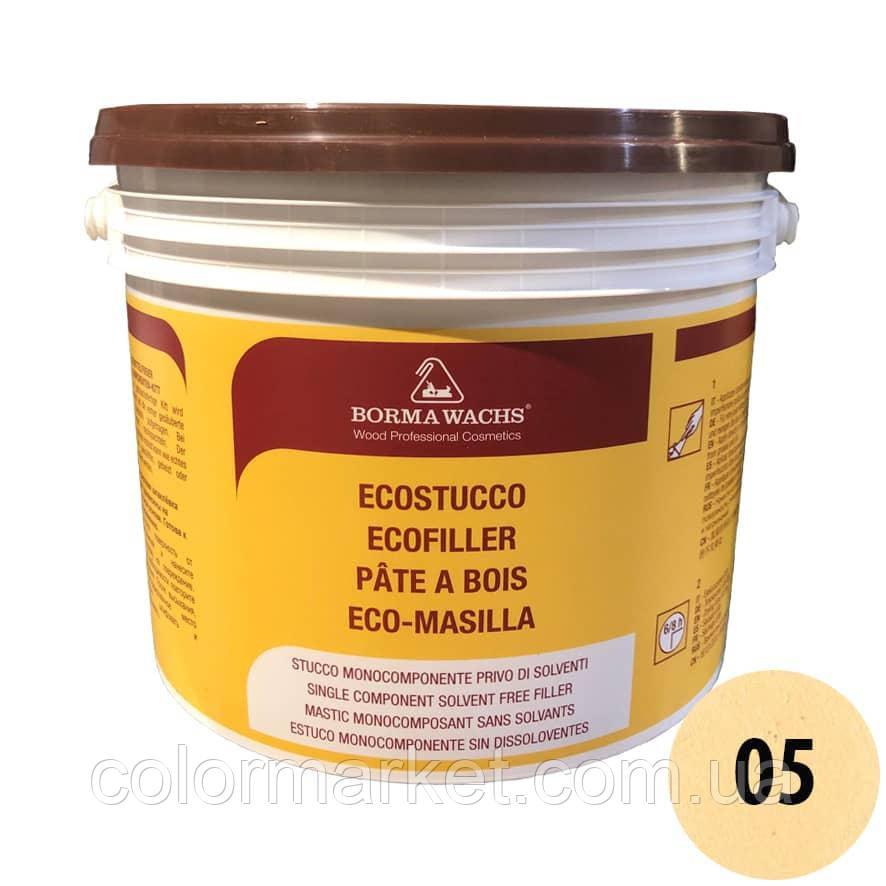 Водорастворимая шпатлевка Ecostucco 1570 05 сосна (5 кг), BORMA WACHS