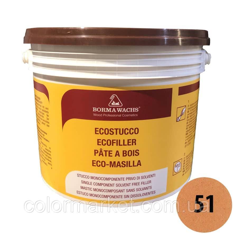 Водорозчинна шпаклівка Ecostucco 1570 51 дуб (5 кг), BORMA WACHS