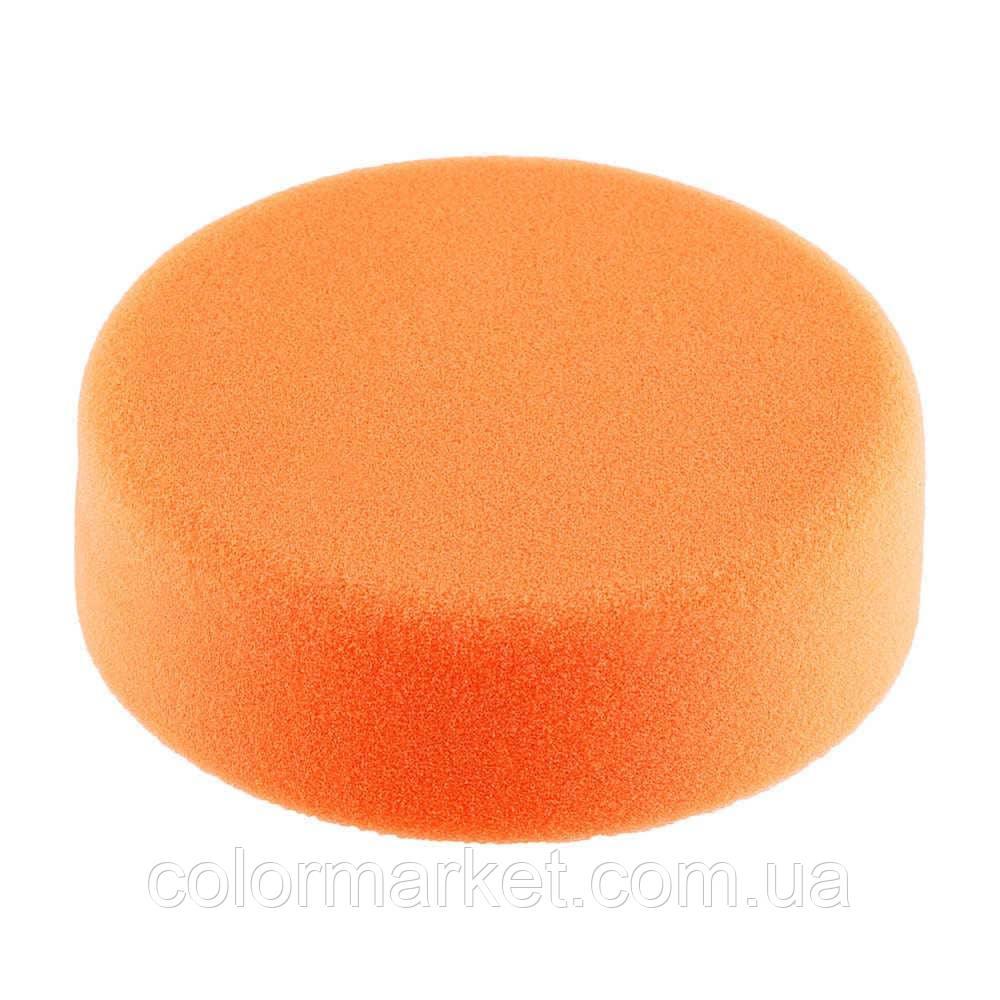 Полировальный круг средней жёсткости оранжевый D150, SOLID