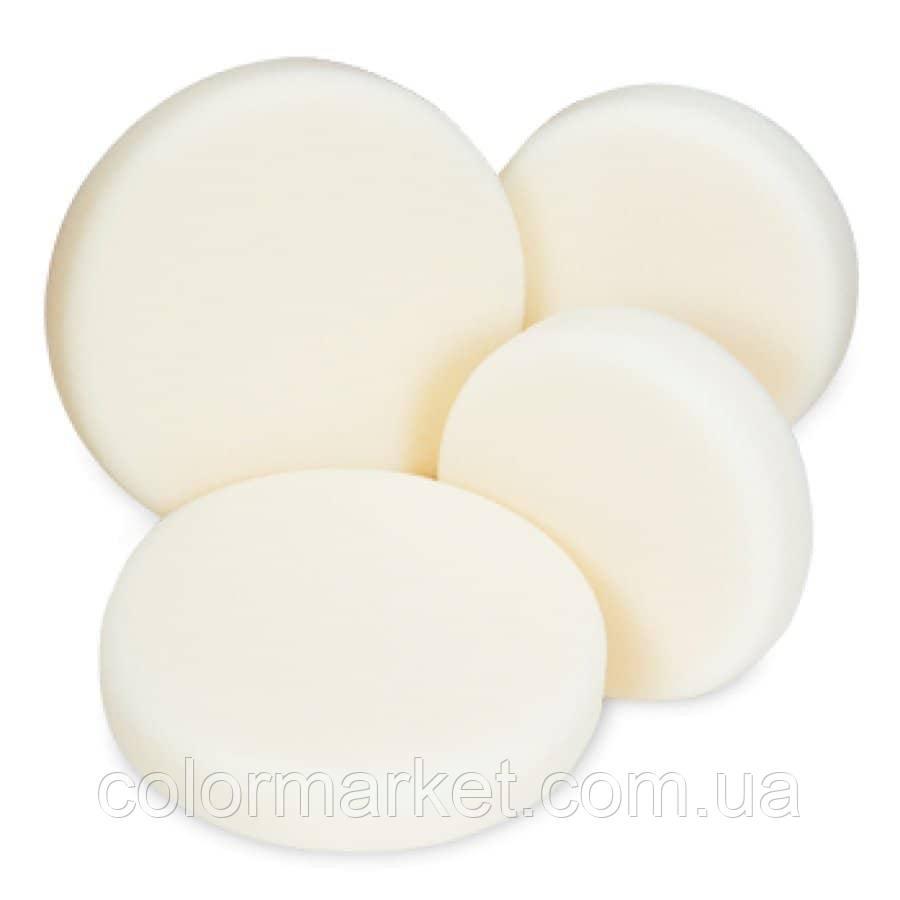 Полировальный круг твердый белый D150, SOLID