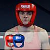 Боксерський шолом турнірний PowerPlay 3049 Червоний M, фото 9