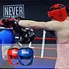 Боксерський шолом турнірний PowerPlay 3049 Червоний M, фото 10