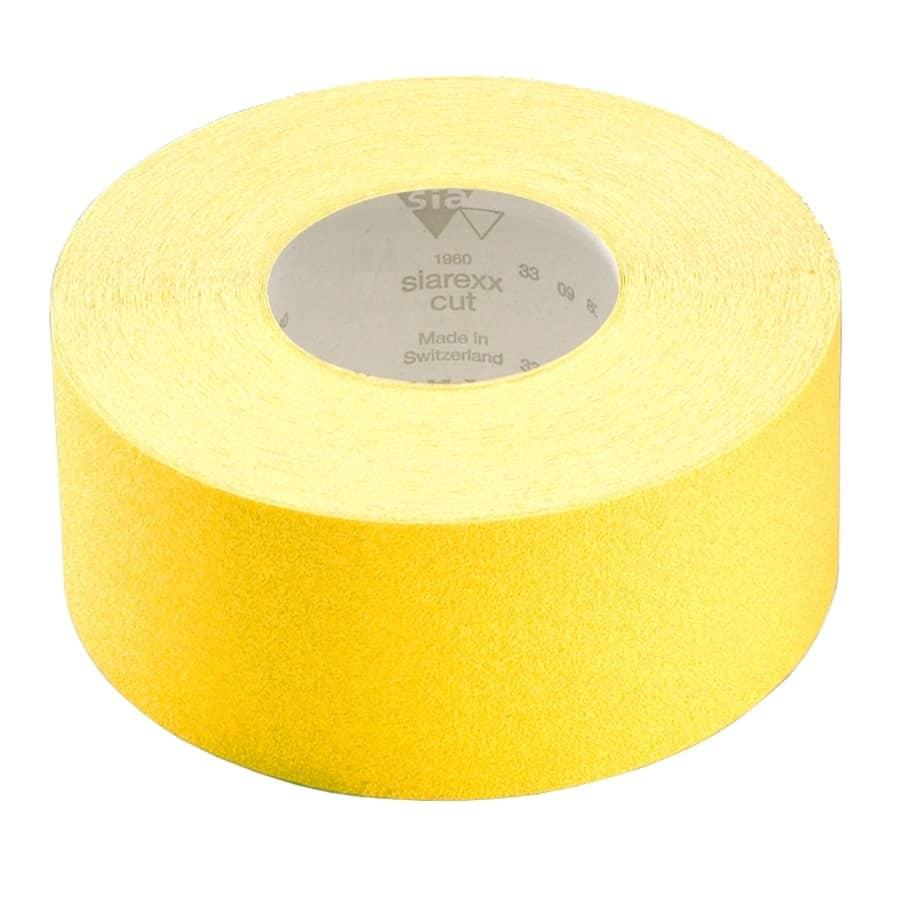 Абразивный рулон на бумажной основе Т3232 P100 115 мм х 50 м , SIA