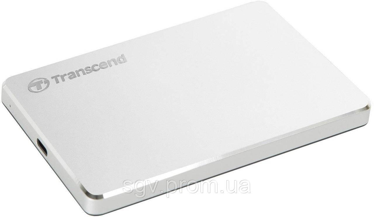 Внешний жесткий диск Transcend Thunderbolt USB 3.1 Type-C емкостью 2ТБ для iMac и MacBook