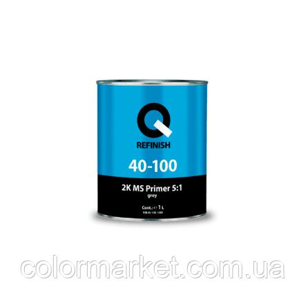 40-100-0800 Грунт-наполнитель 2K MS FILER 5:1 серый (0.8 л), Q REFINISH