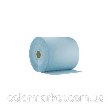 60-135-1000 Рушники паперові трьохшарові сині (38*37 см), Q REFINISH