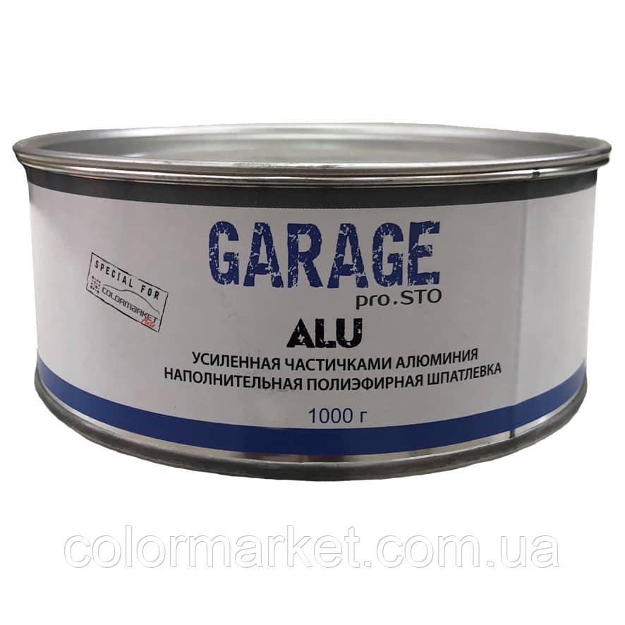 Шпатлевка Alu (1,0 кг), GARAGE