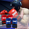 Боксерские перчатки PowerPlay 3015 красные (натуральная кожа) 16 унций, фото 10