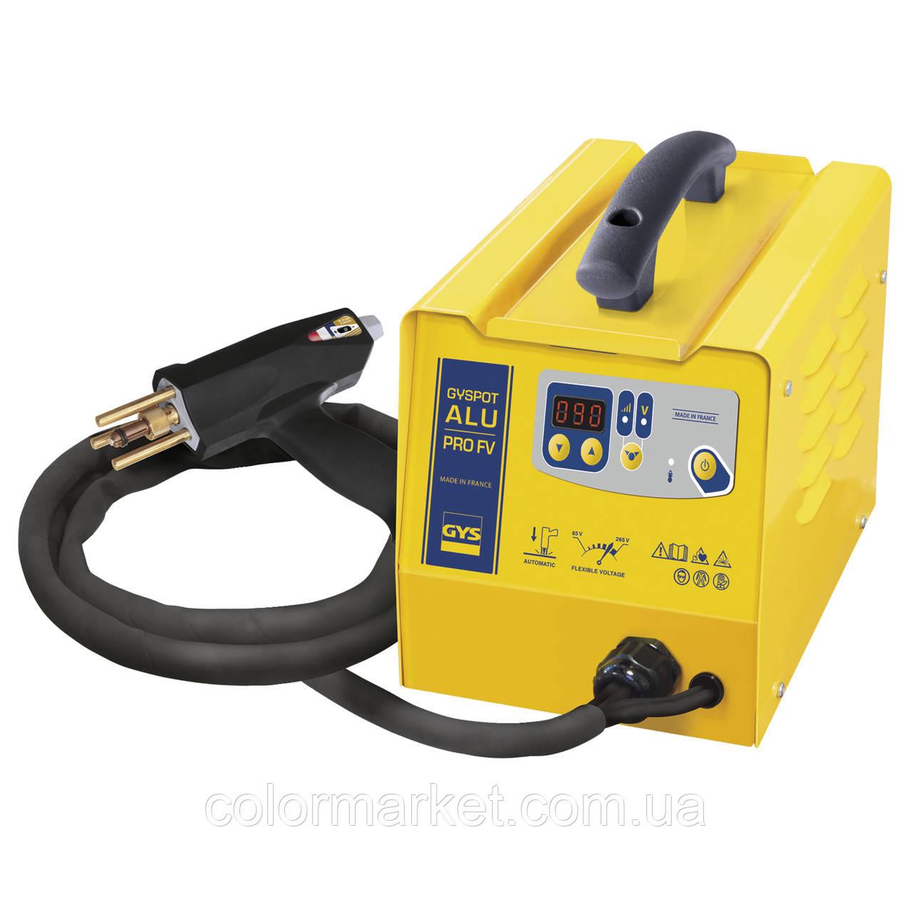 Аппарат для выпрямления стали и алюминия (спотер) COMBI 230 E PRO, GYS
