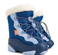 Дутики Демар SNOW MAR голубые