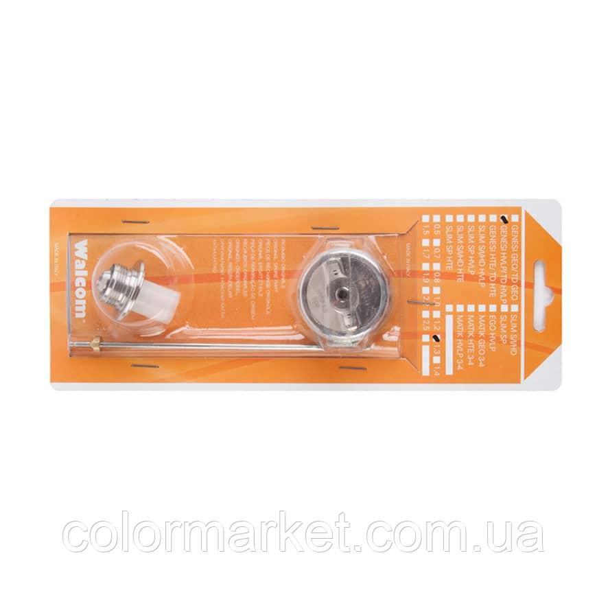 11354.15 Ремкомплект сопла Asturomec к краскопульту 10010/10011 HTE (1,5 мм), WALCOM
