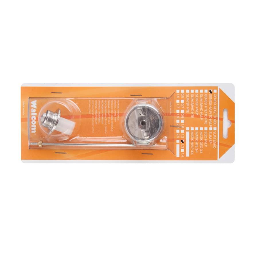 11354.22 Ремкомплект сопла Asturomec до фарбопульта 10010/10011 HTE (2,2 мм), WALCOM