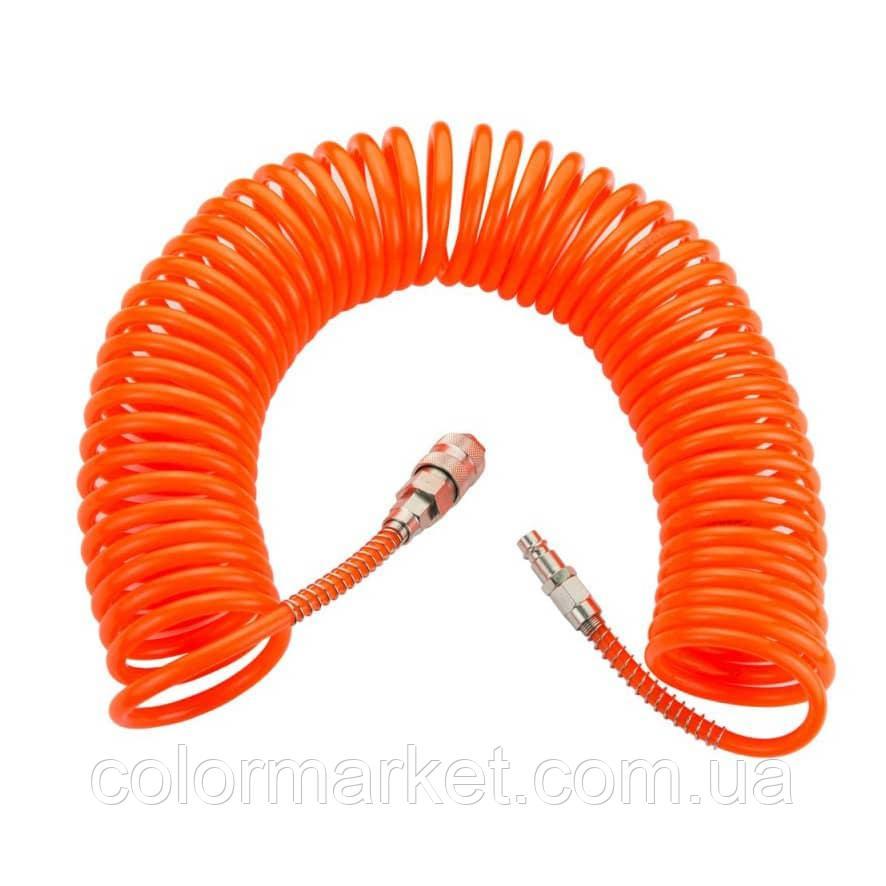 60112 Шланг спиральный полиуретановый 8*10, 10 м, WALCOM