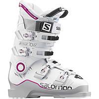 Горнолыжные ботинки женские Salomon X MAX 70 W GREY/WHITE/PINK (MD)