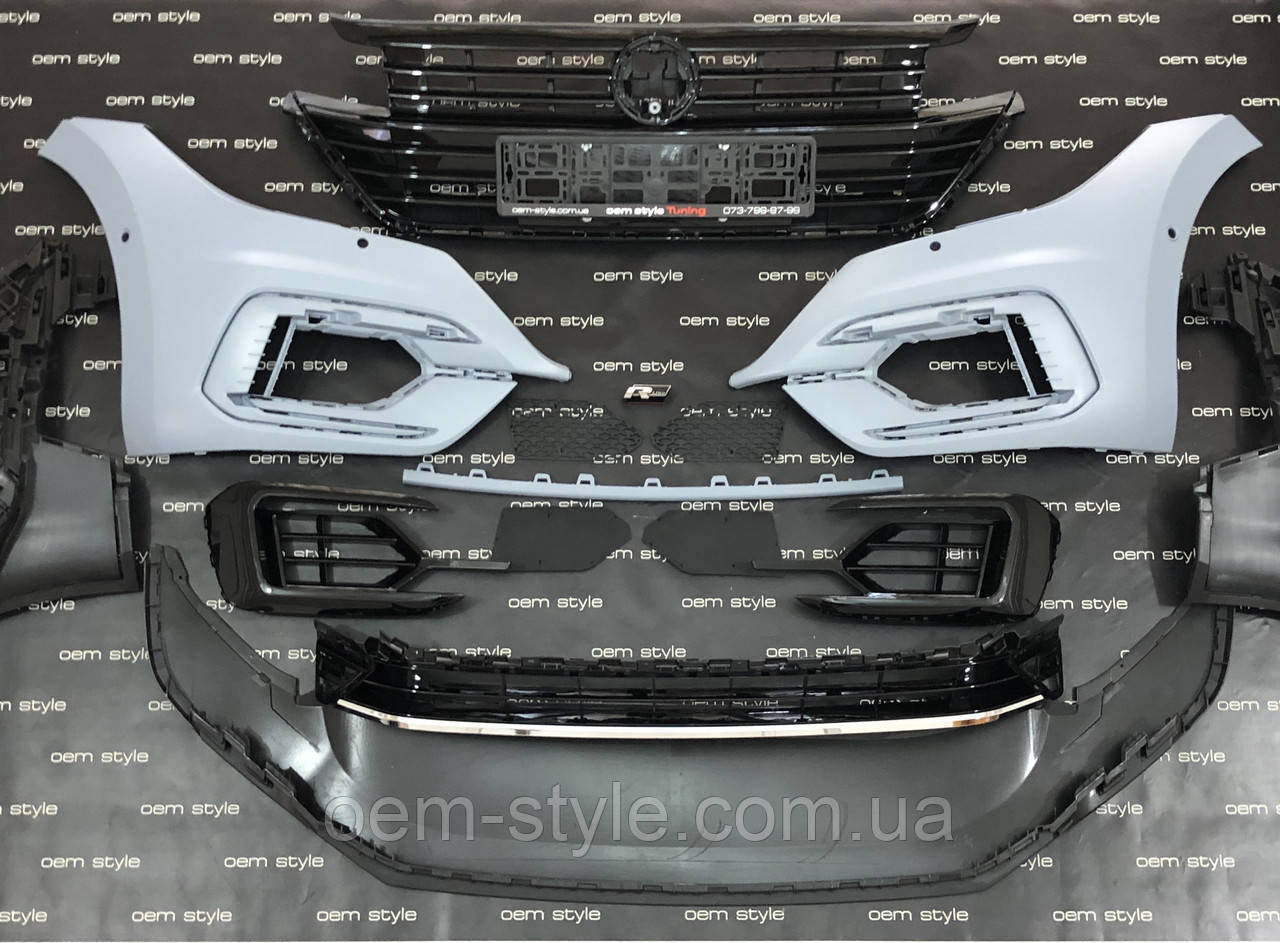 Передний бампер для Volkswagen Arteon R-Line