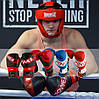 Боксерські рукавиці PowerPlay 3023 Червоно-Чорні [натуральна шкіра] 16 унцій, фото 10