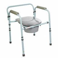 Кресло туалет со спинкой