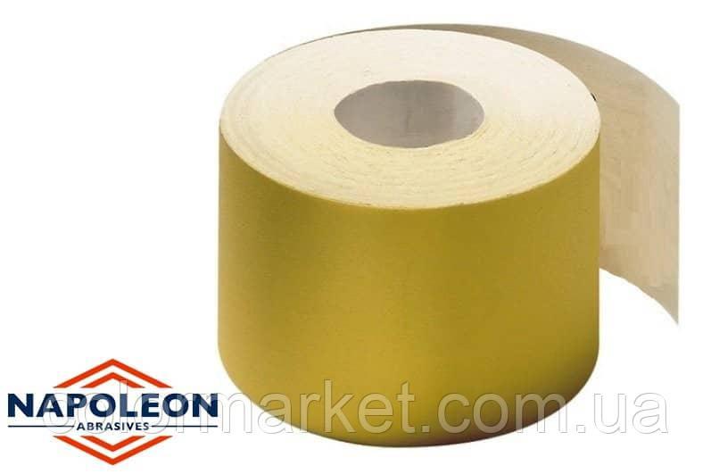 Абразивный рулон на поролоновой основе без перфорации RSAS-XA-SV150 115мм*25м P150, NAPOLEON