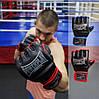 Перчатки для MMA PowerPlay 3058 черно-синие M, фото 8