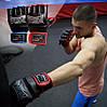 Перчатки для MMA PowerPlay 3058 черно-синие M, фото 10