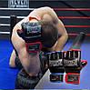 Перчатки для MMA PowerPlay 3058 черно-красные XL, фото 10