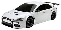 Машинка на радиоуправлении шоссейная Team Magic Mitsubishi Evolution X белая (машинки на пульте управления)
