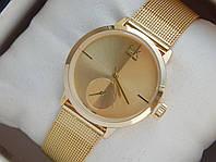 Мужские (Женские) кварцевые наручные часы Calvin Klein Mini на металлическом ремешке, фото 1